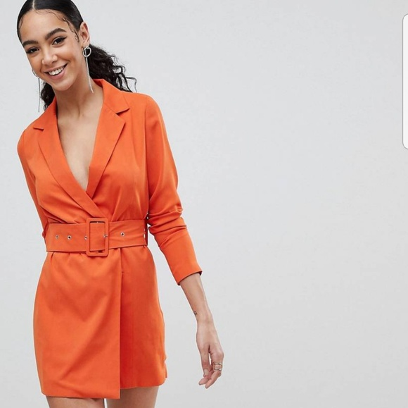 c7abd26320a91 Missguided Dresses | Belted Blazer Dress | Poshmark